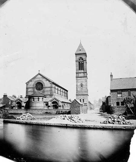 St Barnabas, Jericho, Taunt, 1875