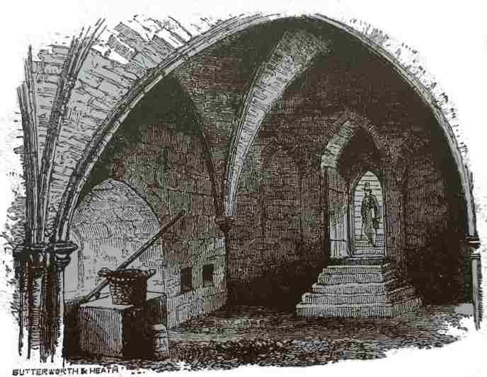 WINDSOR CASTLE, CRYPT IN BELL TOWER