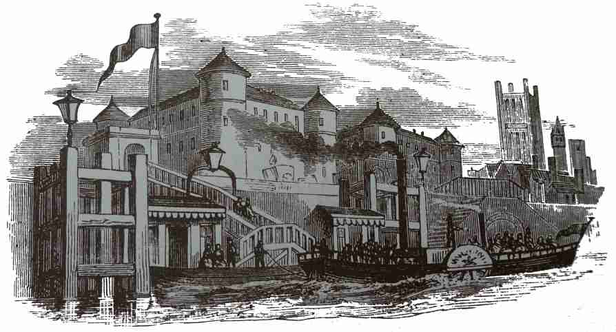 MILLBANK PRISON AND STEAM-BOAT PIER