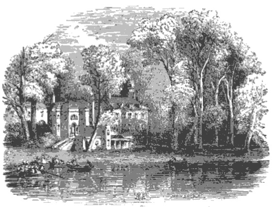 Duke of Buccleuch's Villa from The Tiber and the Thames, 1876