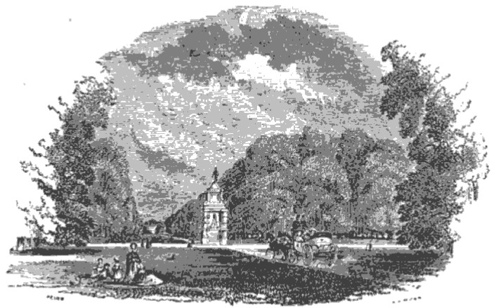 Bushy Park from Tiber and Thames, 1876