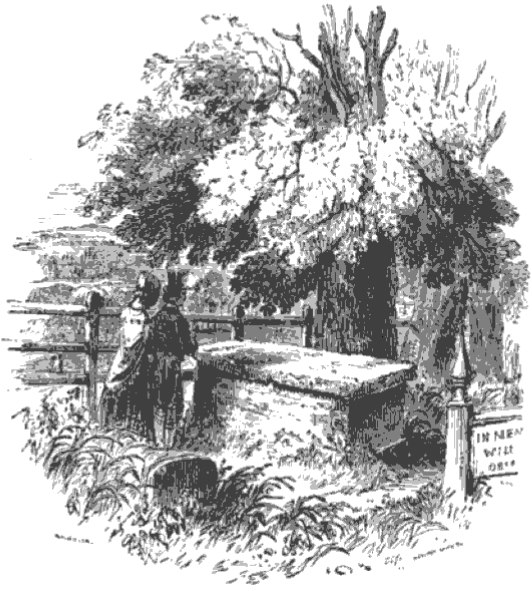 Byron's Tomb from The Tiber and the Thames, 1876