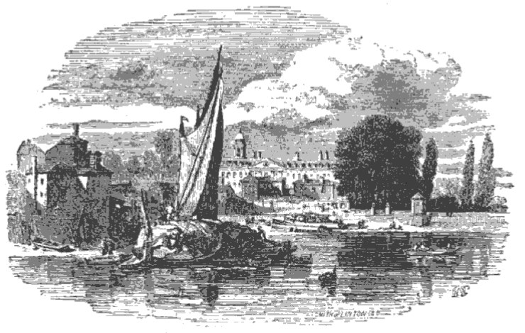 Chelsea from The Tiber and the Thames, 1876