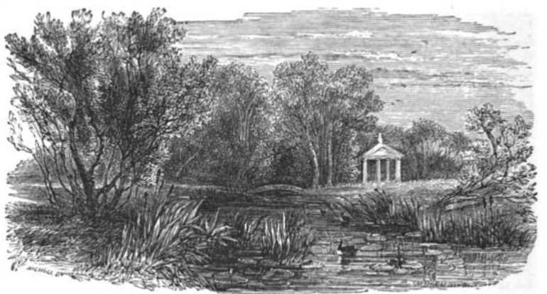 Horticultural Gardens, Chiswick from The Tiber and the Thames, 1876