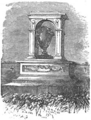 Sir Hans Sloane's Monument from The Tiber and the Thames, 1876