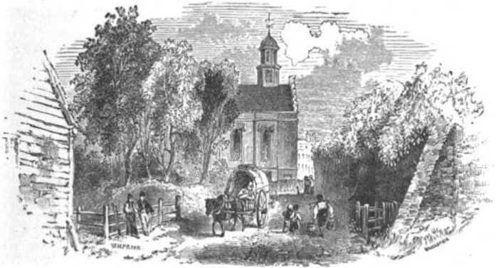 Harrow School Chapel from The Tiber and the Thames, 1876