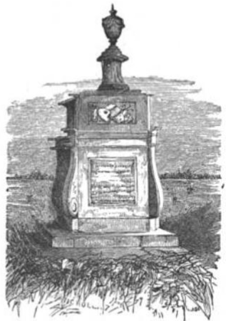 Hogarth's Tomb from The Tiber and the Thames, 1876