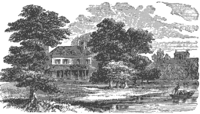 Marble Hill, Twickenham from The Tiber and the Thames, 1876