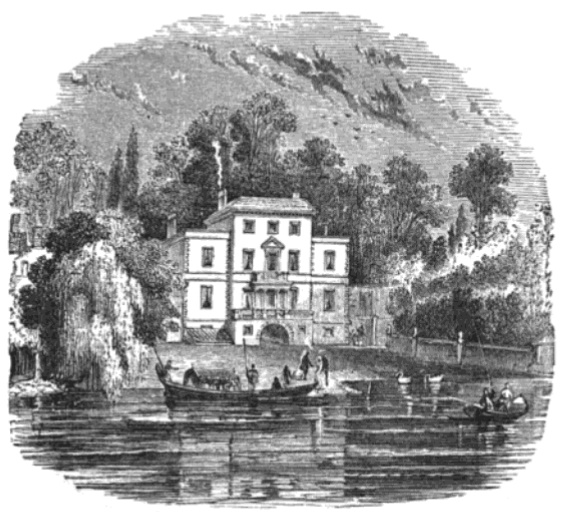 Pope's Villa 1744 from The Tiber and the Thames, 1876