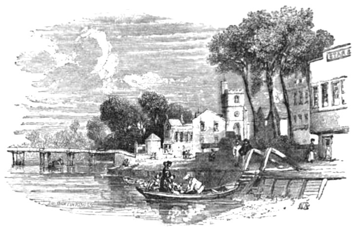 Putney from The Tiber and the Thames, 1876