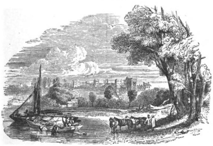 Richmond Hill from The Tiber and the Thames, 1876