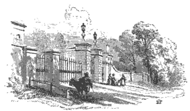 Gate Richmond Great Park from The Tiber and the Thames, 1876