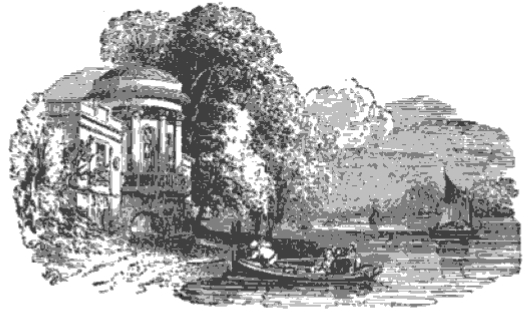 Sion House Boat House from The Tiber and the Thames, 1876