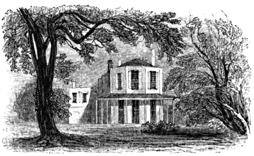 Bowling Green House, Picturesque Thames,Murray,1845