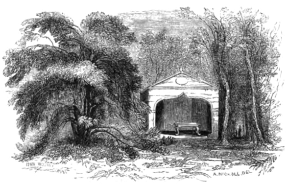 Thomson's garden, Picturesque Thames,Murray,1845