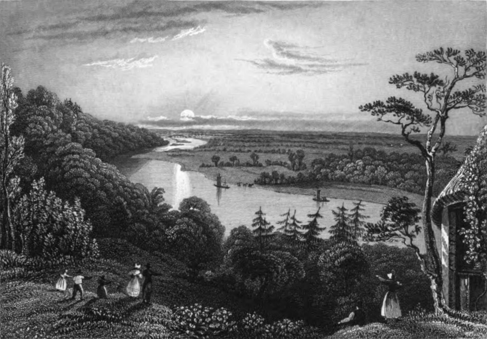 View from Cliveden Park,Tombleson 1830