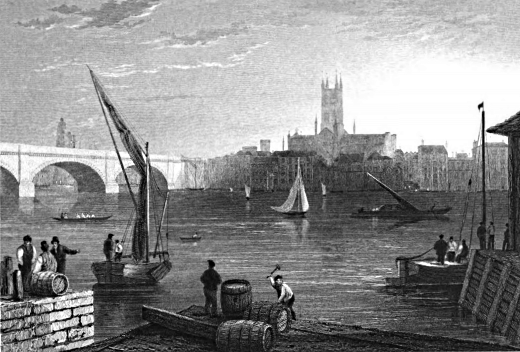 Southwark,Tombleson 1830