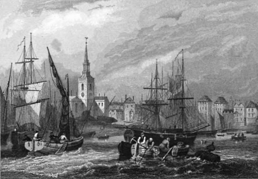 Rotherhithe,Tombleson 1830