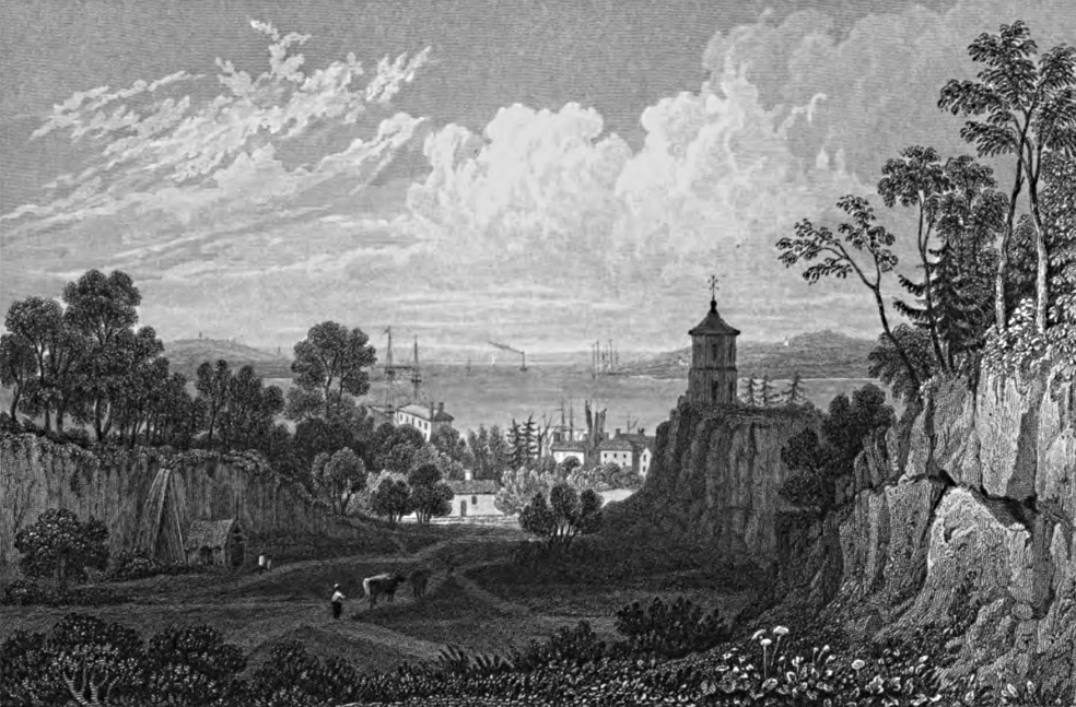 Greenhithe,Tombleson 1830