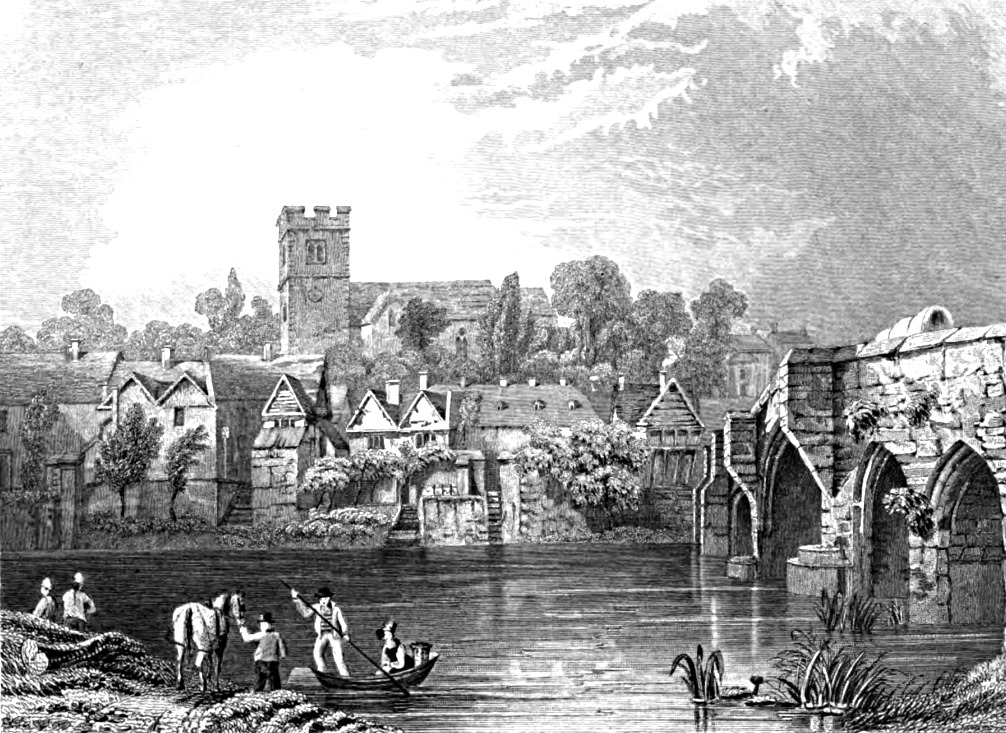 Aylesford,Tombleson 1830