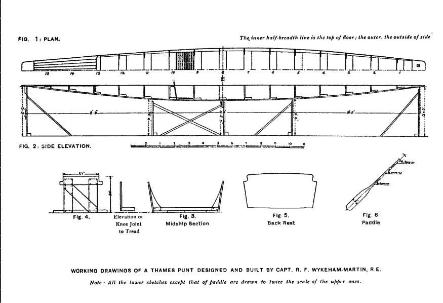"""Appendix 3: """"How to Build a Thames Punt"""""""