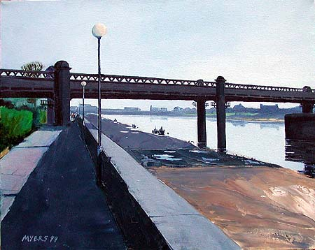 Fulham Bridge © 2000 Doug Myers