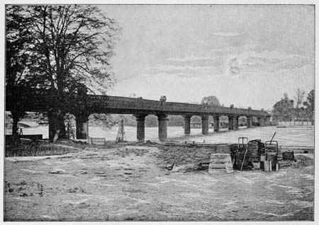 'Putney' Railway Bridge, James Dredge, 1897