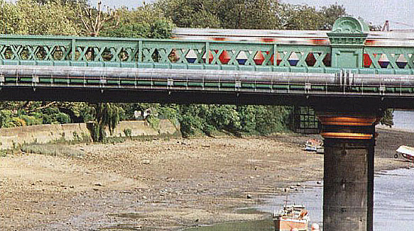 Fulham Railway Bridge 1997