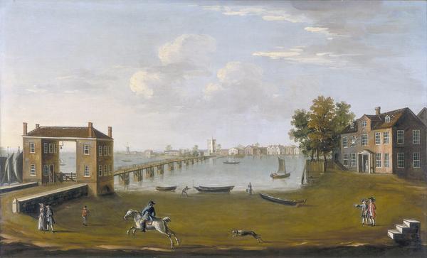 Putney Bridge Where Thames Smooth Waters Glide