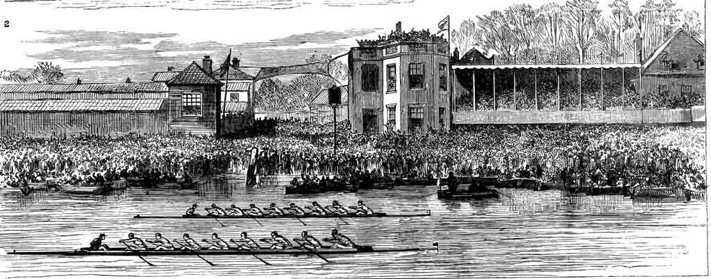 Boat Race Finish, 1877
