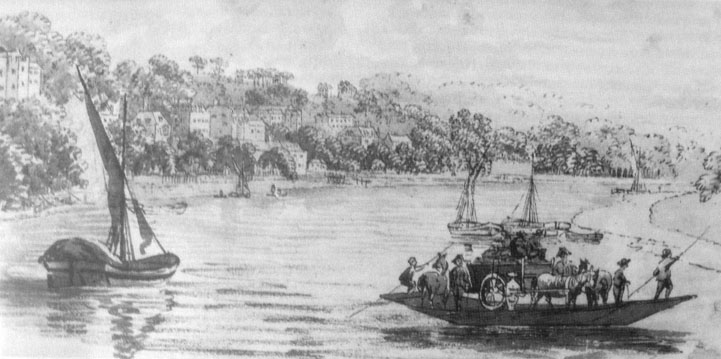Richmond Ferry, 1770