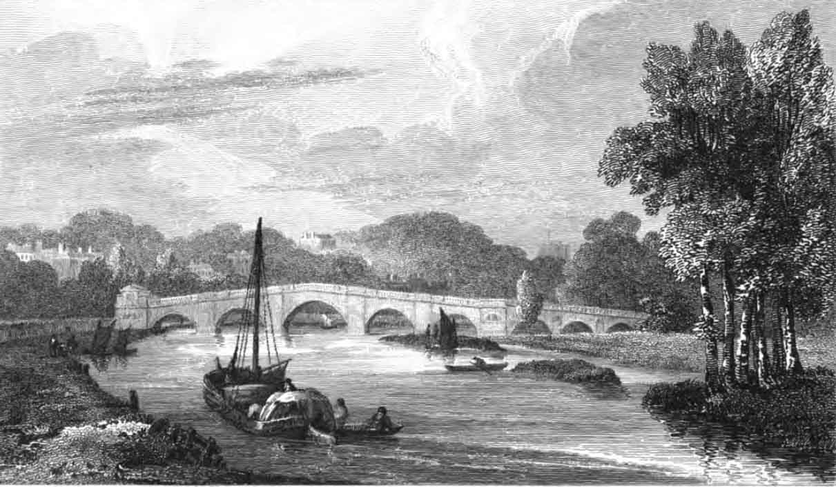 Richmond Bridge, 1811
