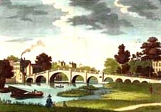 New Richmond Bridge,1790?