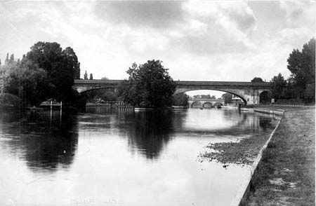 Maidenhead Railway Bridge, Henry Taunt, 1883