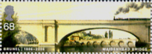 Brunel Stamp, Maidenhead Bridge