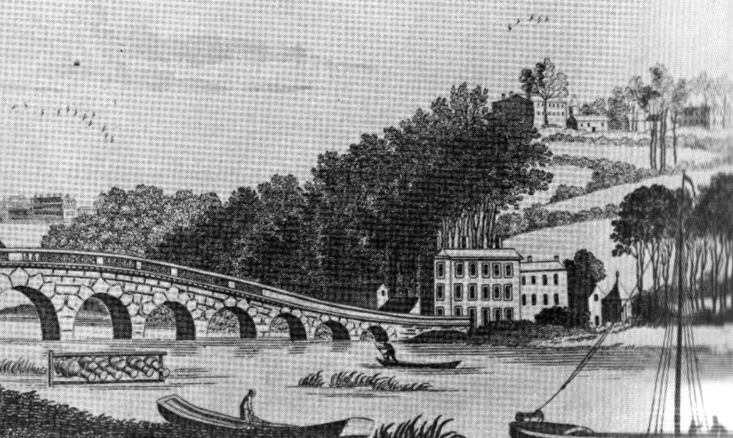 Maidenhead Bridge, c 1800