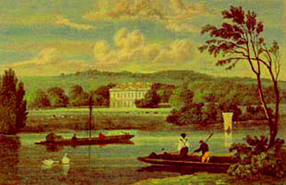 Fawley Court, J P Neale