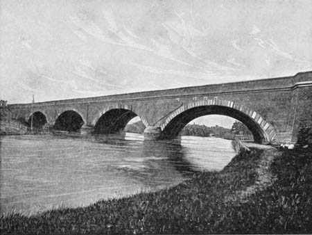 Moulsford Railway Bridge, James Dredge, 1897