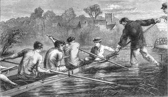 Tom Brown at Oxford, start of the Eights at Iffley