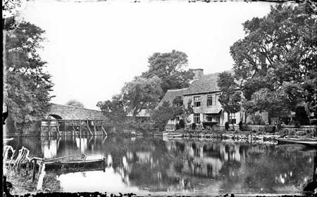 The Trout Godstow, 1870