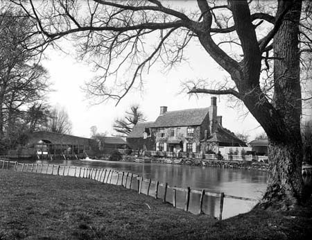 The Trout Godstow, 1880