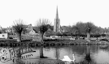 1955, Lechlade, Francis Frith