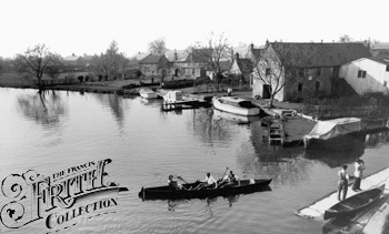 1955:  Riverside Tea Rooms, Francis Frith
