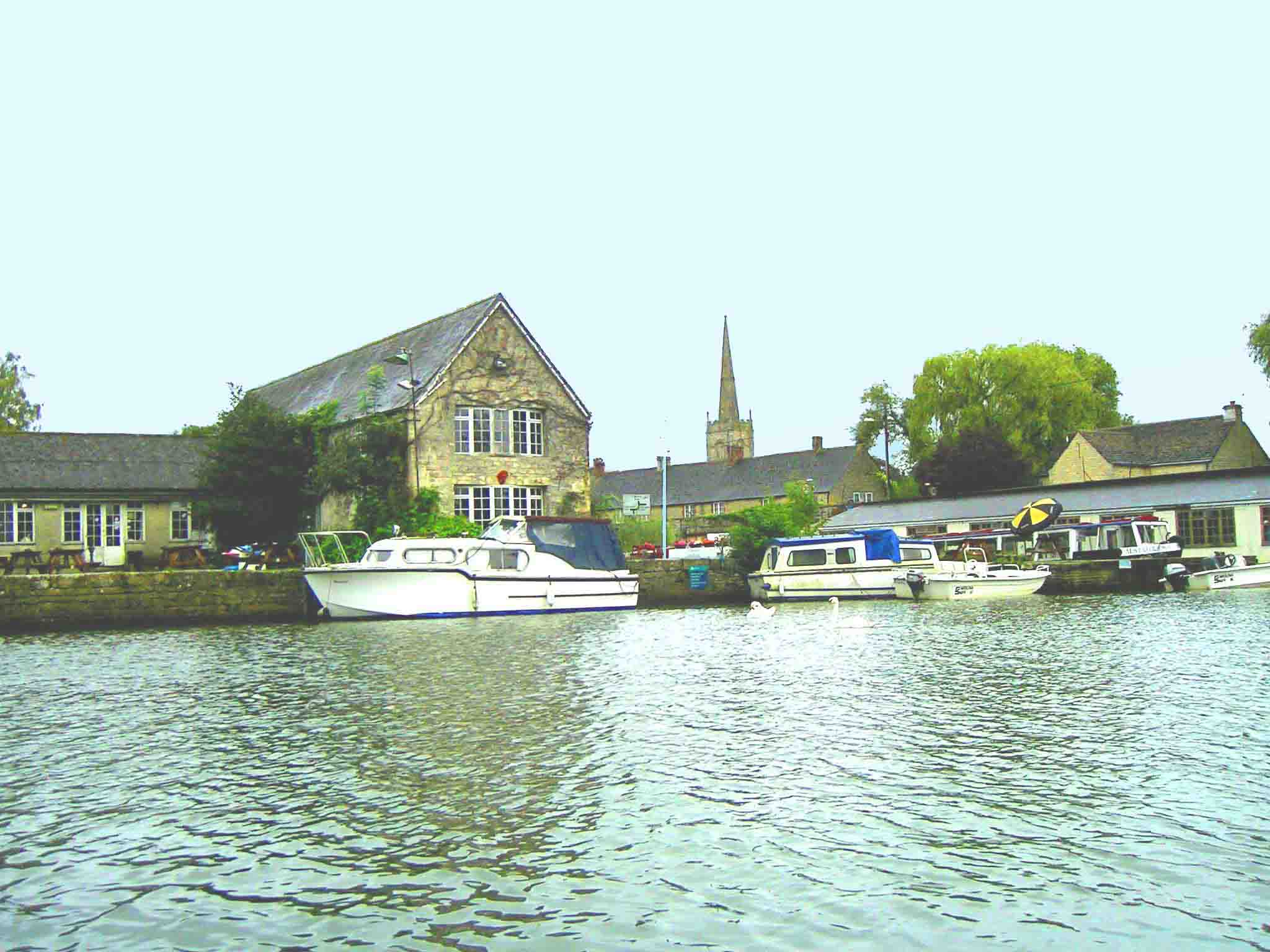 Riverside, Lechlade, 2000